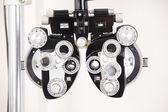 眼睛考试设备 — 图库照片