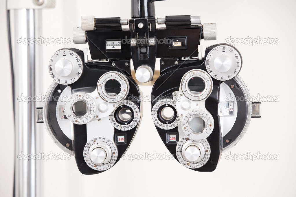 Close-up of eye exam equipment. — Stock Photo #10021078
