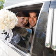 Stock Photo: Portrait Of Newlywed Couple