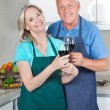 Couple Toasting Wine — Stock Photo #8811761