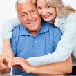 Royalty-Free Stock Photo: Senior Couple Embracing