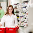 Portrait of Attractive Female Pharmacist — Stock Photo #9182605