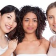 Multiethnic Group of Woman - Stock Photo