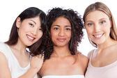 Multiethnic Group of Woman — Stock Photo