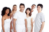 Multiethnic Group of — Stock Photo