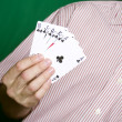 Royal flush — Stock Photo #9825111