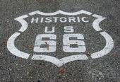 Route 66 road — Stockfoto