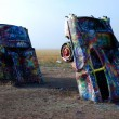 Stock Photo: Cadillac Ranch