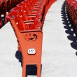 Red seats — Stock Photo