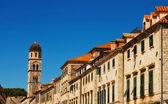 Dubrovnik Old Town architecture — Fotografia Stock