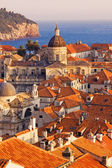 Dubrovnik Old Town at sunset — Foto de Stock