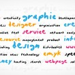 Cmyk Word Cloud - Image vectorielle