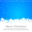 Christmas Card-2 — Stock Vector