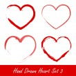 Hand drawn heart set 3 — Stock Vector #8412038