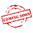 Coming Soon rubber stamp - Stock Vector