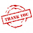 Royalty-Free Stock Vector Image: Grunge Thank you stamp