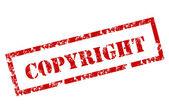 Grunge Copyright stamp — Stock Vector