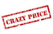 クレイジー価格スタンプ — ストックベクタ