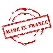 Made in Frankreich-Briefmarke — Stockvektor