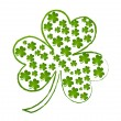 Shamrock Leaves Vector — Stock Vector