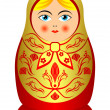 Matrioshka. — Stock Vector