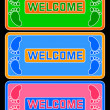 Welcome. - Stock Vector