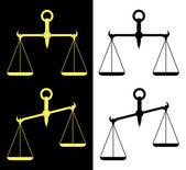 Scales. — Stock Vector