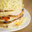 Royalty-Free Stock Photo: Salty pancakes