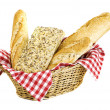 Variety of bread — Stock Photo