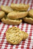 Fresh crisp bread rolls — Stockfoto