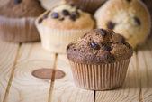 Zelfgemaakte muffins — Stockfoto
