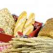 Variety of bread — Stock Photo #9571386