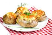 Stuffed potatoes — Stock Photo