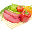 Beef and vegetables — Stock Photo #8878685
