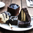 Chocolate cakes — Stockfoto #9407876