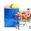 Easter shopping — Stock Photo