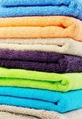 Pure cotton towels — Stock Photo