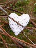 Coração em pontos — Fotografia Stock
