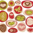 Hearts of love — Stock Photo
