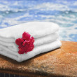 Spa Towel — Foto Stock