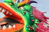 Papier mache carnival — Stock Photo