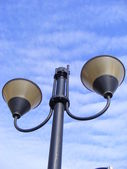 Lamp street — Stock Photo