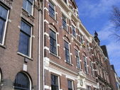 Huis in amsterdam — Stockfoto