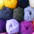 Balls of wool - Stock Photo