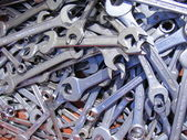Mechanical keys — Stock Photo