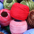 Balls of wool — Stock Photo #9669963