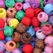 Balls of wool — Stock Photo