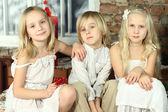 Barn - leende barn, bästa vänner — Stockfoto