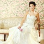 Beautiful woman fashion model in luxury interior — Stock Photo