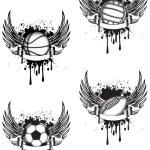 Sports emblem — Stock Vector #10055603